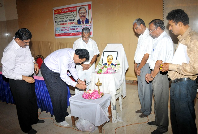 Condolence Meeting :For Late Sri Dinesh Pai and Adv. Sanjeeva Kanchan