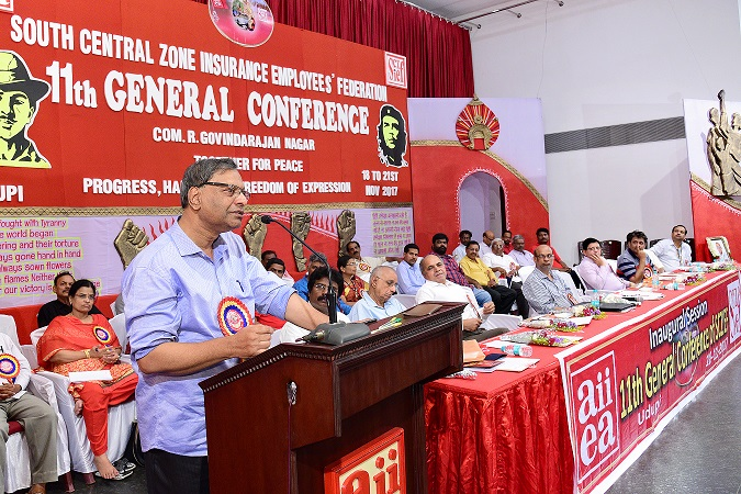 The inauguration of 11th General Conference of SCZIEF, Hyderabad held at Udupi