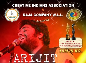 Singing Sensation Arijit Singh Live concert in Kuwait today