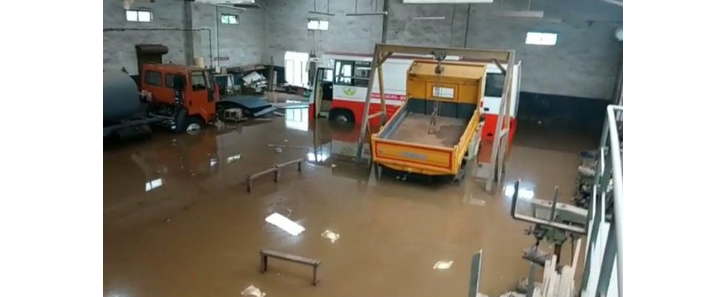 Flash floods at Baikampady; Industries incur serious loss