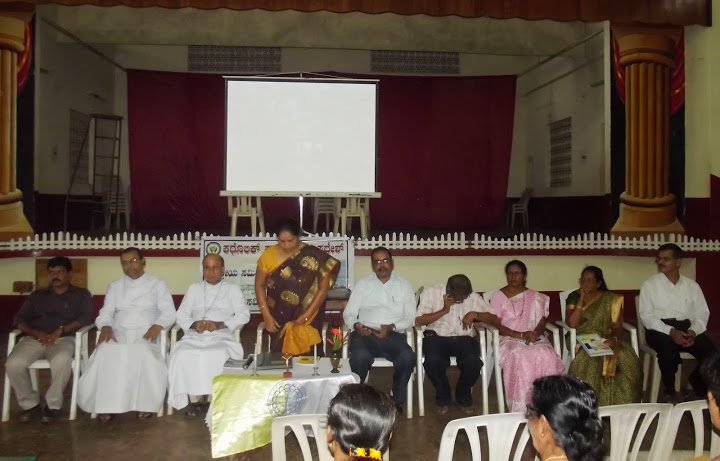 Catholic Sabha Central leaders with Bishop's visit to Kallianper Deanery
