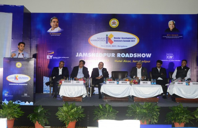 Karnataka eyes on attracting investments – Meets Industry in Jamshedpur, Jharkhand