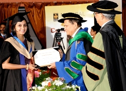 Manipal University convocation held at KMC Greens