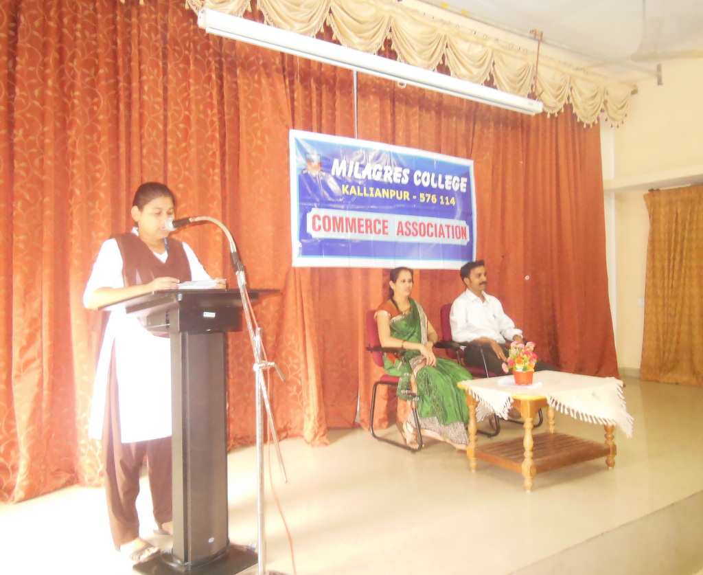 Milagres College organizes career guidance program to final B.Com students
