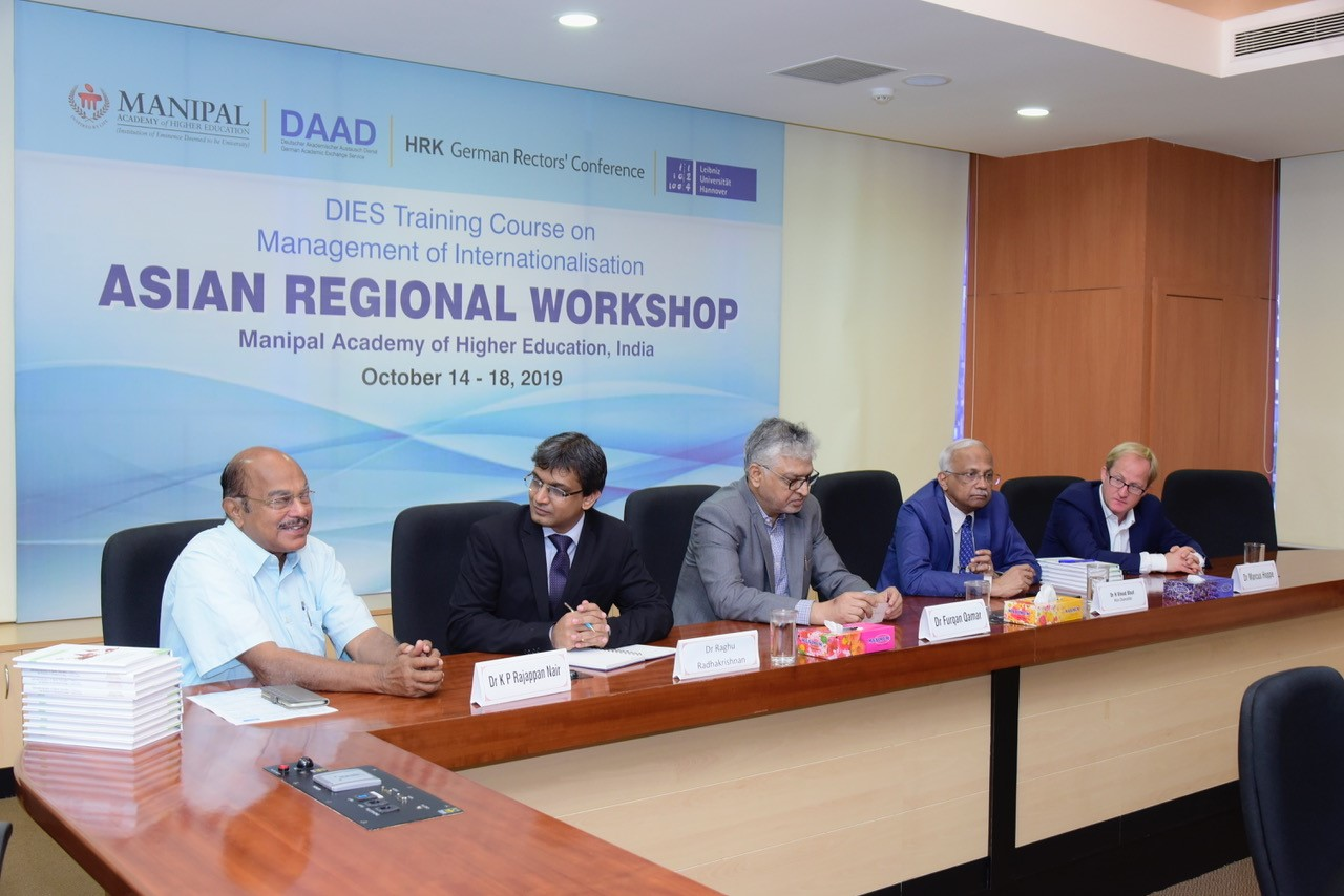 MAHE hosts training in internationalisation