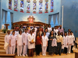 Doha: Rosary Church Celebrates World Sick & Caregiver's Day