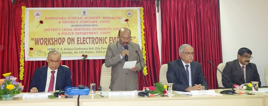 Need Awareness on Digital Crimes – State High Court Justice Fanendra