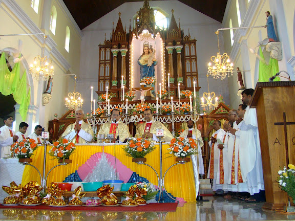 Titular feast of Our Lady Of Miracles celebrated ar Kallianpur