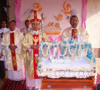 Udupi: Monti Fest celebrated with great devotion at Milagres Cathedral