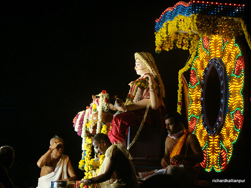 Sharada Devi immersion procession at Kallianpur - images