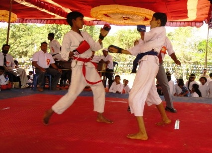 Mangalore: State Level  Karate Competition Inaugurated   at kateel