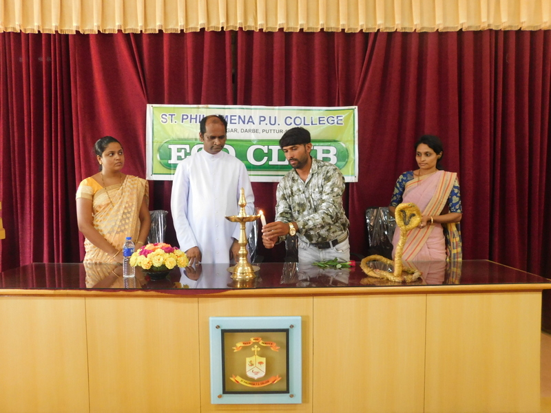 Snake awareness programme by Eco Club at St Philomena P.U. College