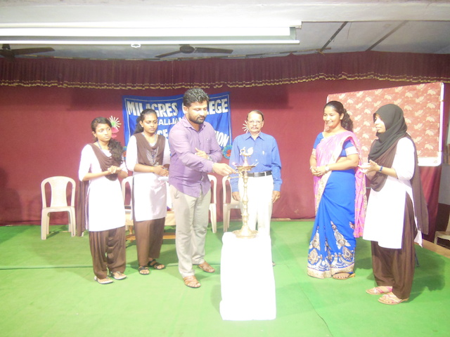 Inauguration of Science Association at Milagres college, Kallianpur