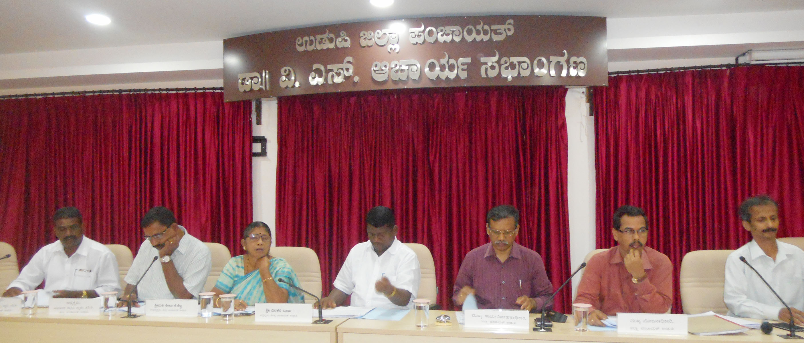 Make use of agricultural projects - Dinakar Babu President of ZP