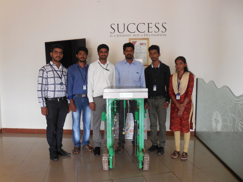 """Agriculture Doctor"" innovative project by CSE students of Moodlakatte Engineering College, Kundapura"