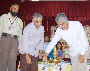 Inaugural function of Students Council 2012-13 held in SDM Ayurveda College, Udupi.