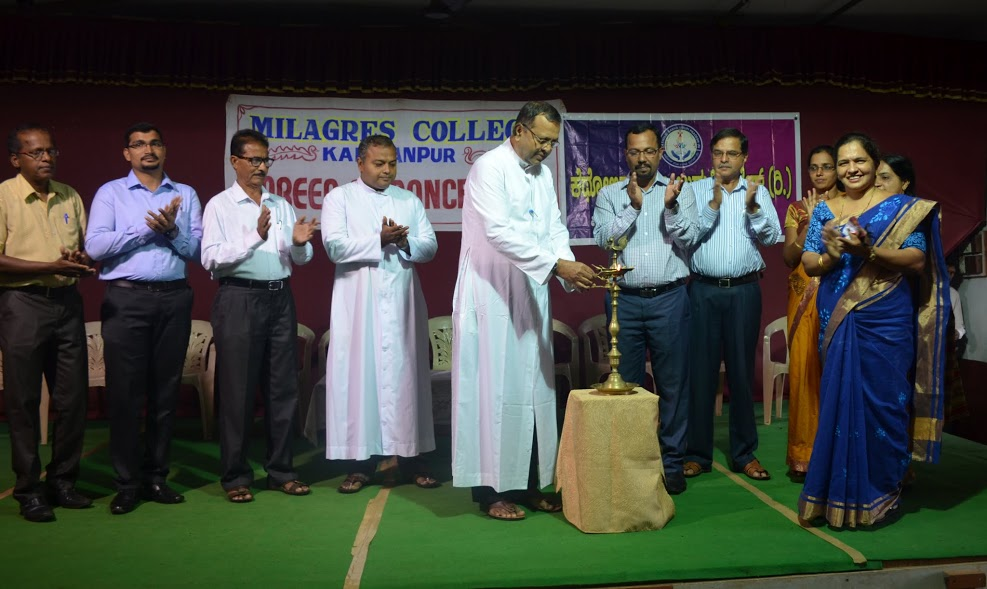 A Career Guidance program held at Milagres PU College, Kallianpur