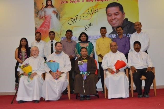 Abu Dhabi : Adieus To Rev. Fr. Ashok from Konkani Community of St. Paul's Catholic  Church, Mussafah, Abu Dhabi.