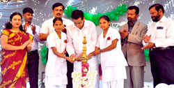 Kaup Vidya School &College of Nursing Lamp Lighting Ceremony