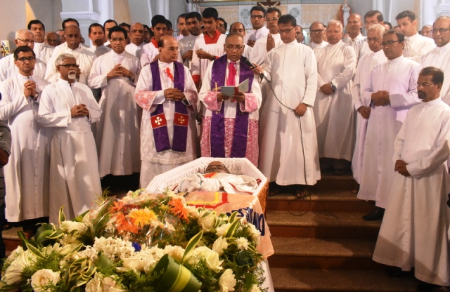 Shirva Church assistant parish priest Fr. Mahesh D'Souza laid to rest