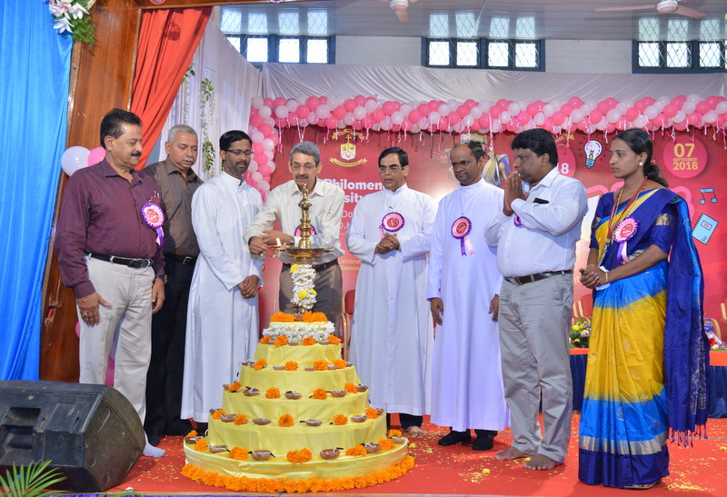 St Philomena PU College : Pratibha - District level inter-school competitions held