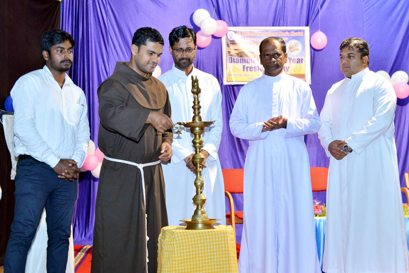 'Freshers' Day' celebrated at St Philomena College Men's Hostel