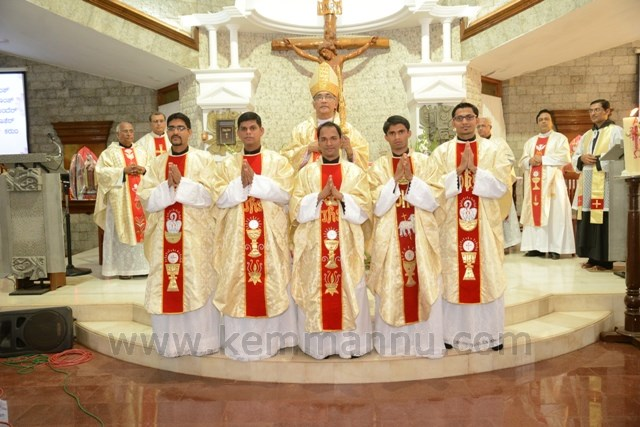 Five Carmelites were Ordained at Infant Jesus Shrine, Mangaluru