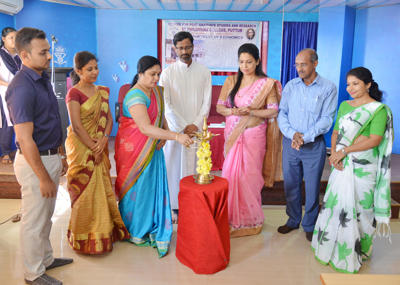 Spoken English Training Course inaugurated at St. Philomena College, Puttur