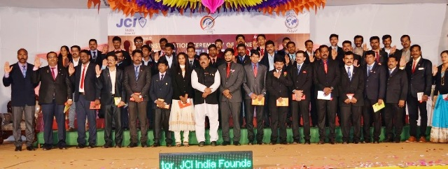 JCI Installation of Zone Governing Body 2017 led by JFP Santhosh G held at Kallianpur