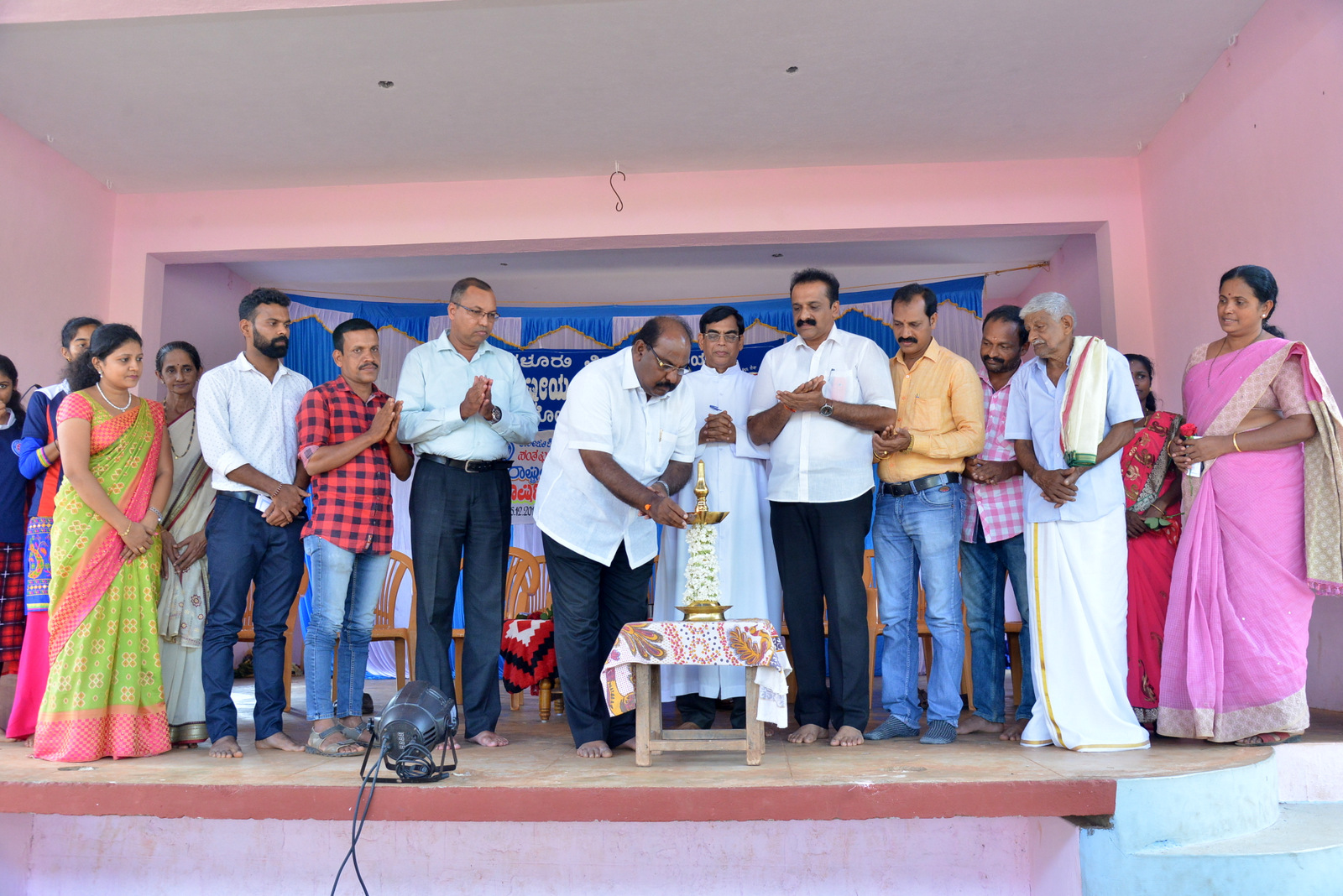 NSS Annual Special Camp of St Philomena College Puttur Kicked off at Kuriya