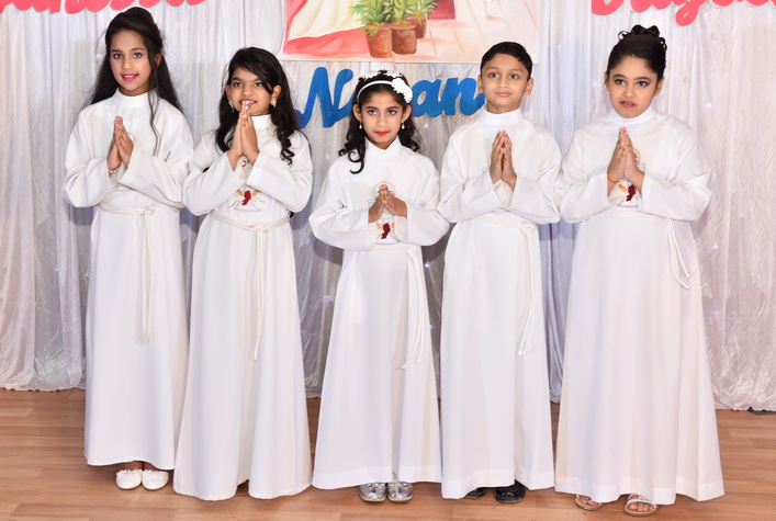 KCWA Celebrates First Holy Communion