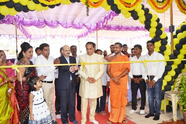 Mahindra First Choice Services Franchise Workshop inaugurated at Ambagilu