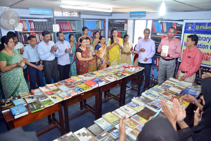 Book Exhibition at St Philomena College Puttur