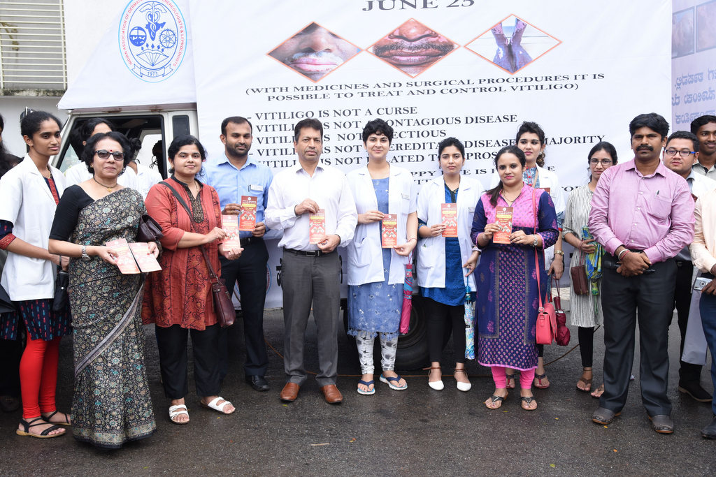 Vitiligo Ratha (Thonnu Ratha) for Vitiligo Awareness Campaign flagged off at Manipal
