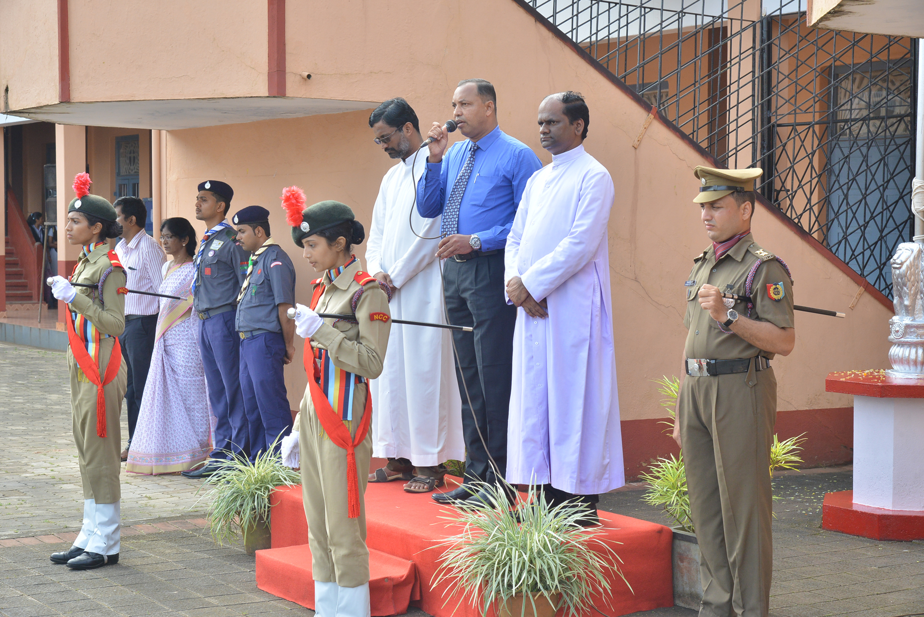 71st Independence Day celebrated at St Philomana College with gaiety and patriotic fervour