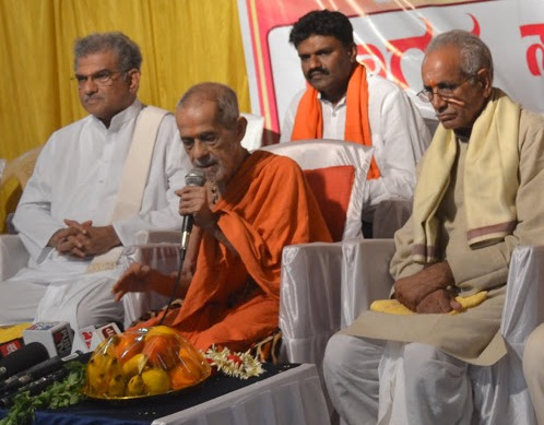 There was no change in his stand on the issue of construction of Ram Temple in Ayodhya - Paryaya Pejawar Seer