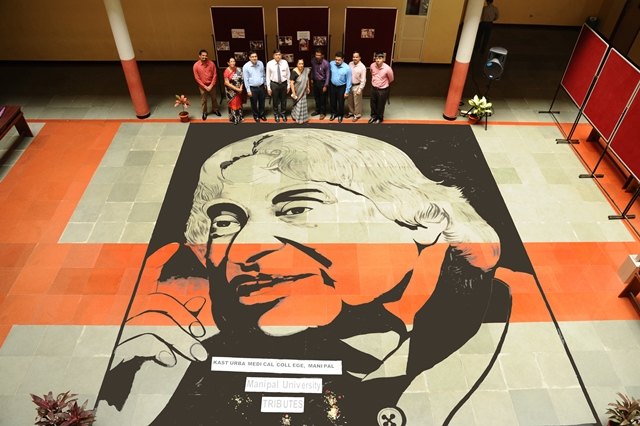 A watercolour tribute to Kalam