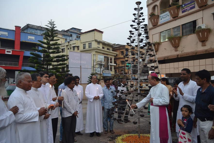 Sarva Dharma Deepavali Celebrated at Our Mother of Sorrows Church, Udupi