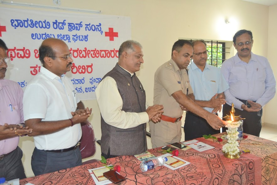 Workshop on First Aid Trainers' Training held at Bharatiya Red Cross Society, Udupi