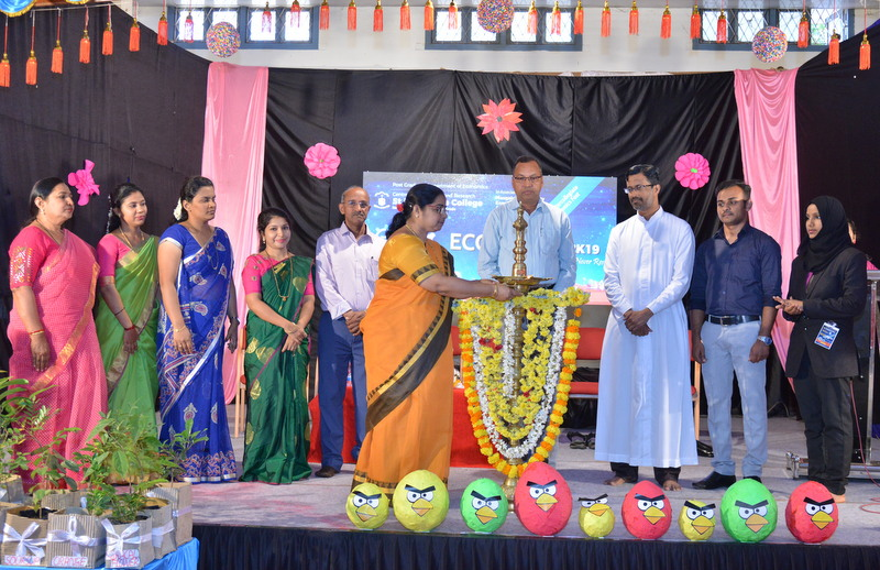 Mangalore University Level Economics Fest 'ECOZENITH 2019' inaugurated at St Philomena College Puttur