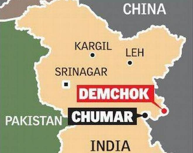 India, China stand-off in Demchok