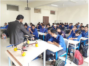 WORKSHOP ON DRONE TECHNOLOGY  BY D. Y. PATIL SCHOOL OF ENGINEERING