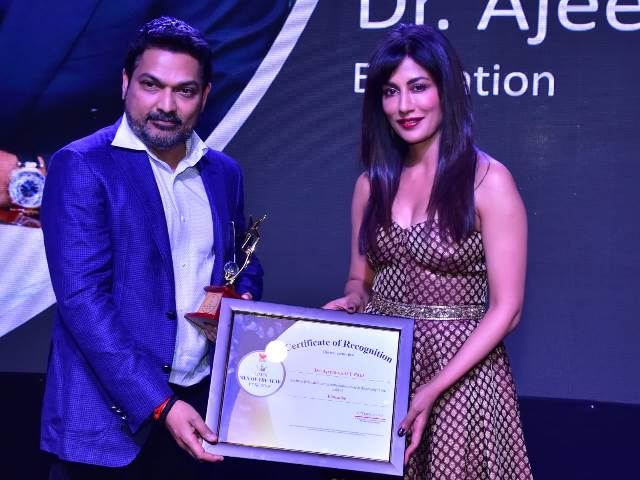 Dr.Ajeenkya DY Patil conferred with Times Men Of The Year Award