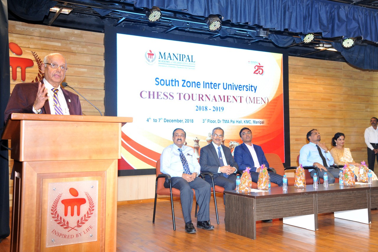 South Zone Varsity Chess tournament under way at Manipal