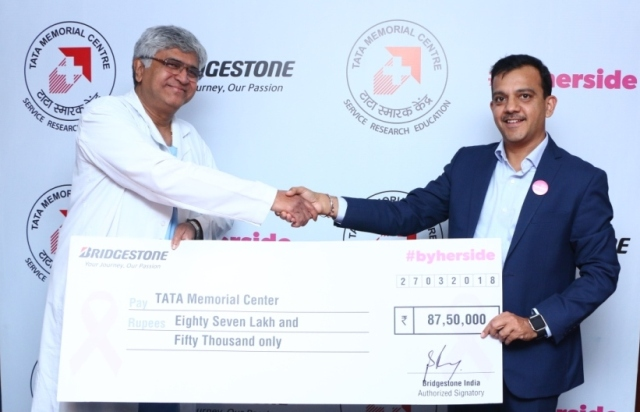 Bridgestone India Contributes for Breast Cancer Patient Treatment