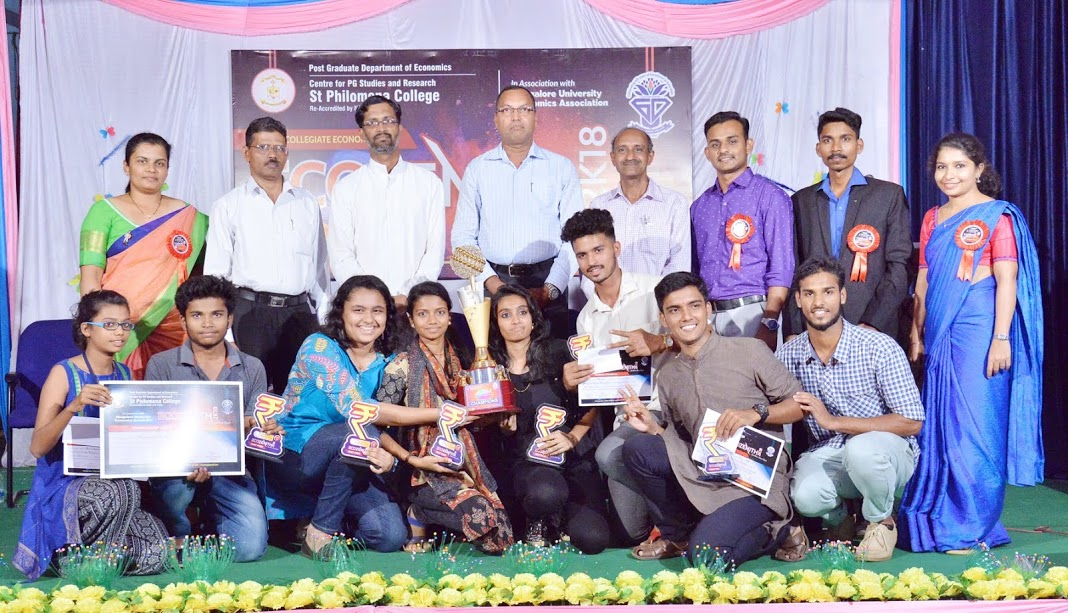 Inter-Collegiate Economics Fest 'Ecozenith 2018' held at St Philomena College, Puttur