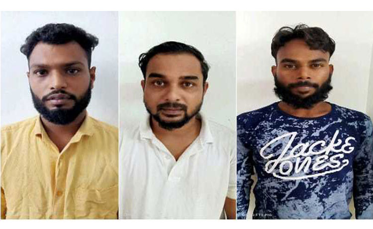 Gang selling ecstasy busted; three arrested