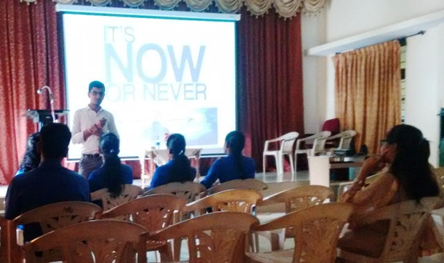 """Communication skill and Personality Development"" @ Milagres College"