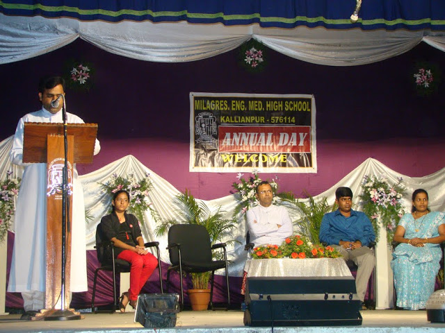 Milagres English High School celebrated School Annual Day