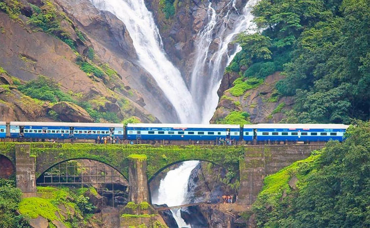 Entry to Dudhsagar waterfalls will open from Sept 4: Suresh Angad